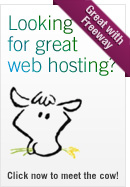 FatCow are a Freeway-friendly web host and offer everything a Freeway Express or Freeway Pro user need to get their sites online fast, and hassle free.
